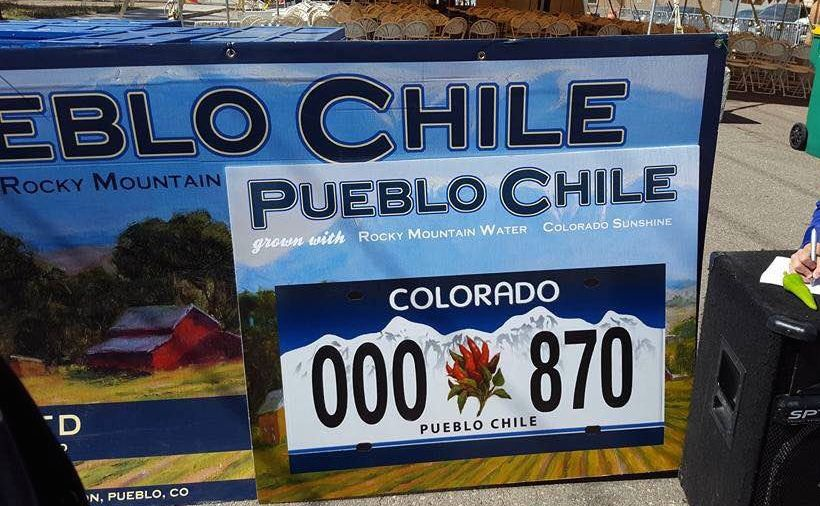 Chiles could make there way onto specialty license plates by 2018.