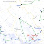 Mu Cephei - the Garnet Star