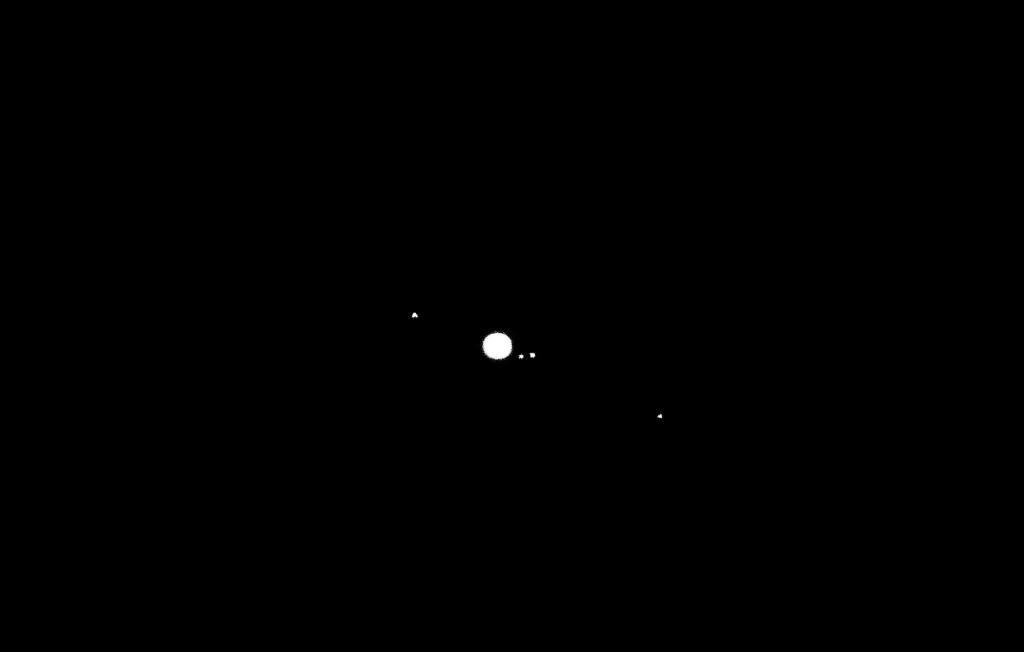 Jupiter in the sky with diamonds.