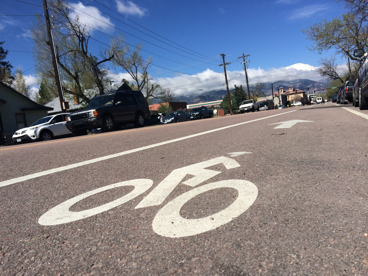 According to a recent report, high speeds along many roadways can make biking undesirable.