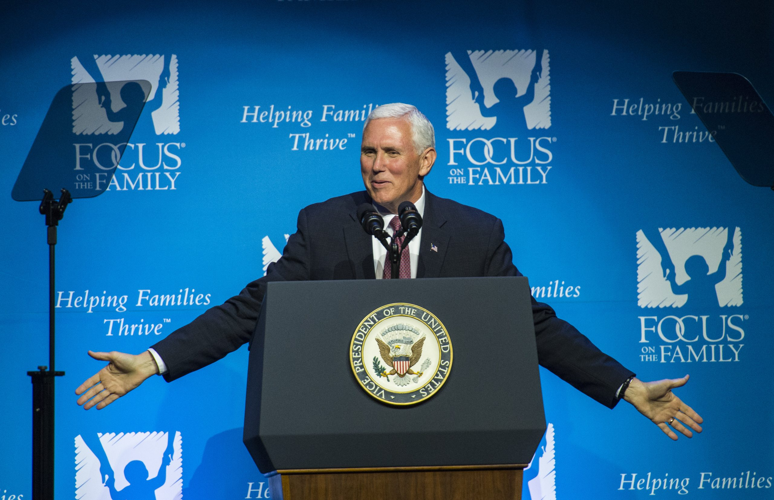 Pence Focus on the Family