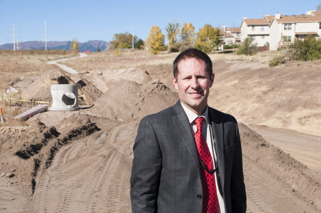 Richard Mulledy, manager of the Colorado Springs Water Resources Engineering Division.