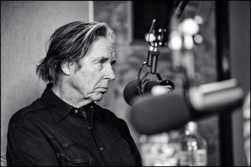 John Doe in the 91.5 KRCC studio.