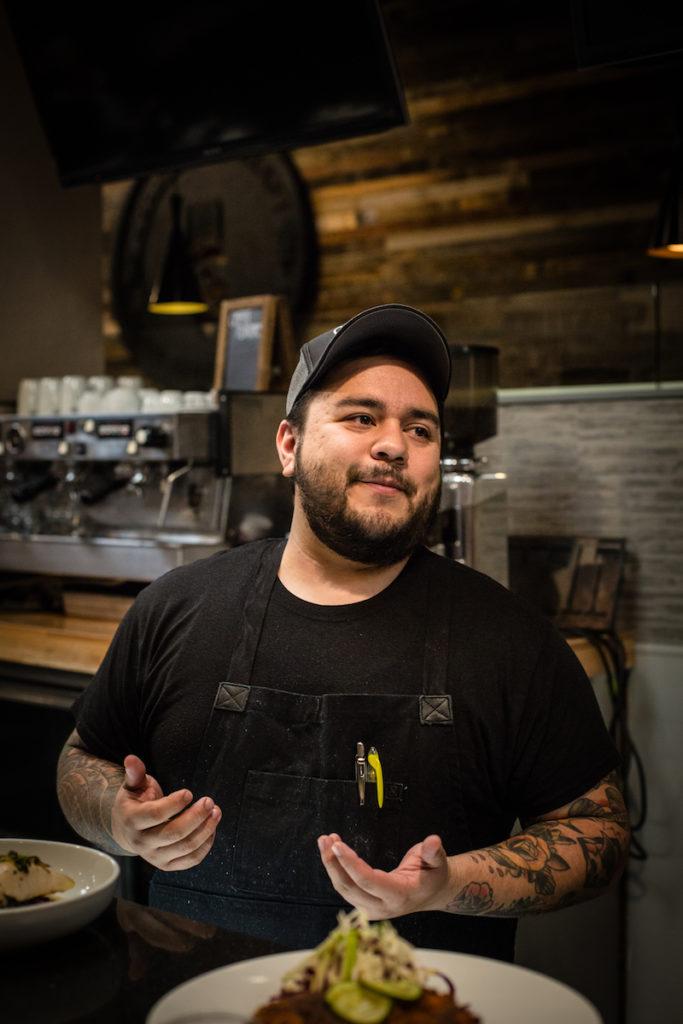 Mario Vasquez, owner and executive chef.