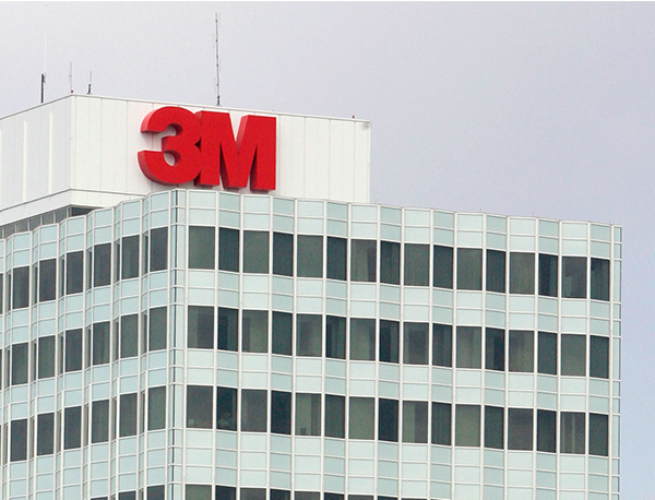 The headquarters of 3M Co., is shown Thursday, April 23, 2009, in Maplewood, MN.