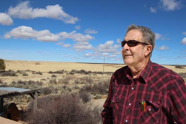 Chuck McAfee, 76, grew up on a farm in rural Montezuma County, Colorado.