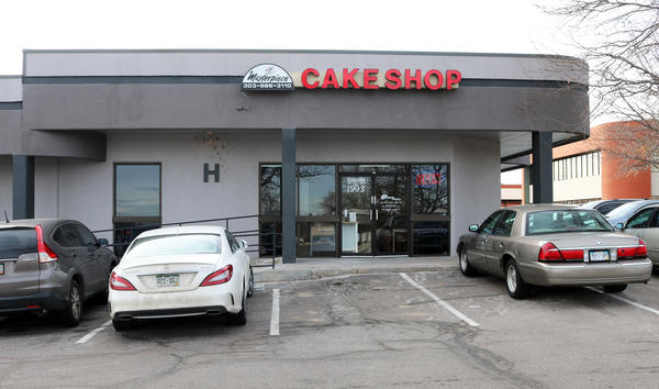 The Masterpiece Cakeshop in Lakewood, Colo., refused to bake a cake for a same-sex wedding reception in 2012.
