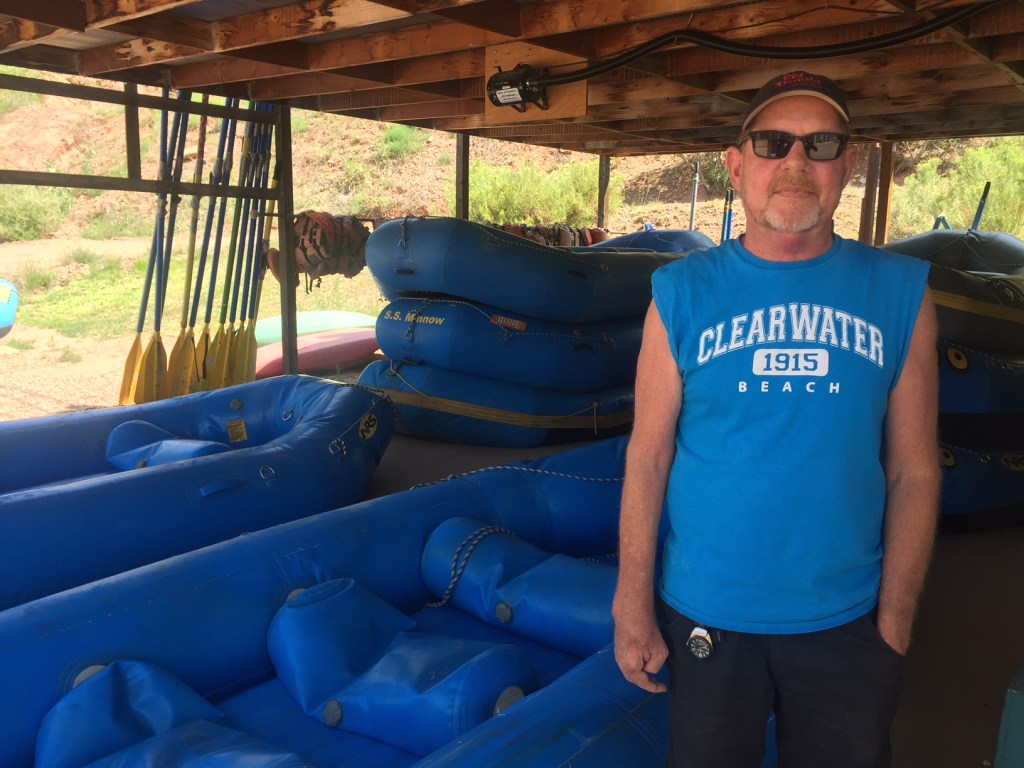 Tony Keenan, owner of Whitewater Adventure Outfitters