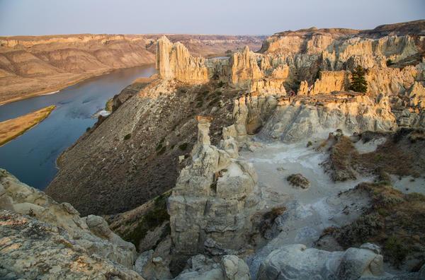 Upper Missouri River Breaks National Monument in Montana.