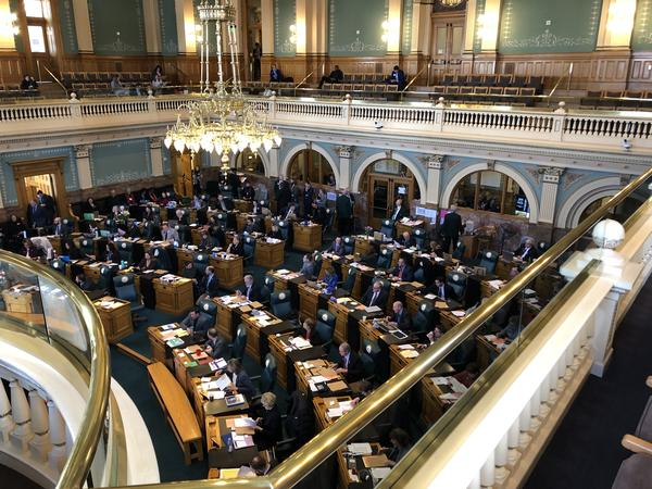 The Colorado House of Representatives weighs bills on Monday. Lawmakers will soon debate proposals that aim to stop surprise medical billing.