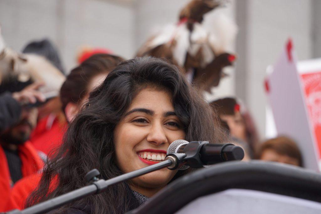 Mishka Banuri is a Pakistani-American teen organizing the climate strikes in Utah.