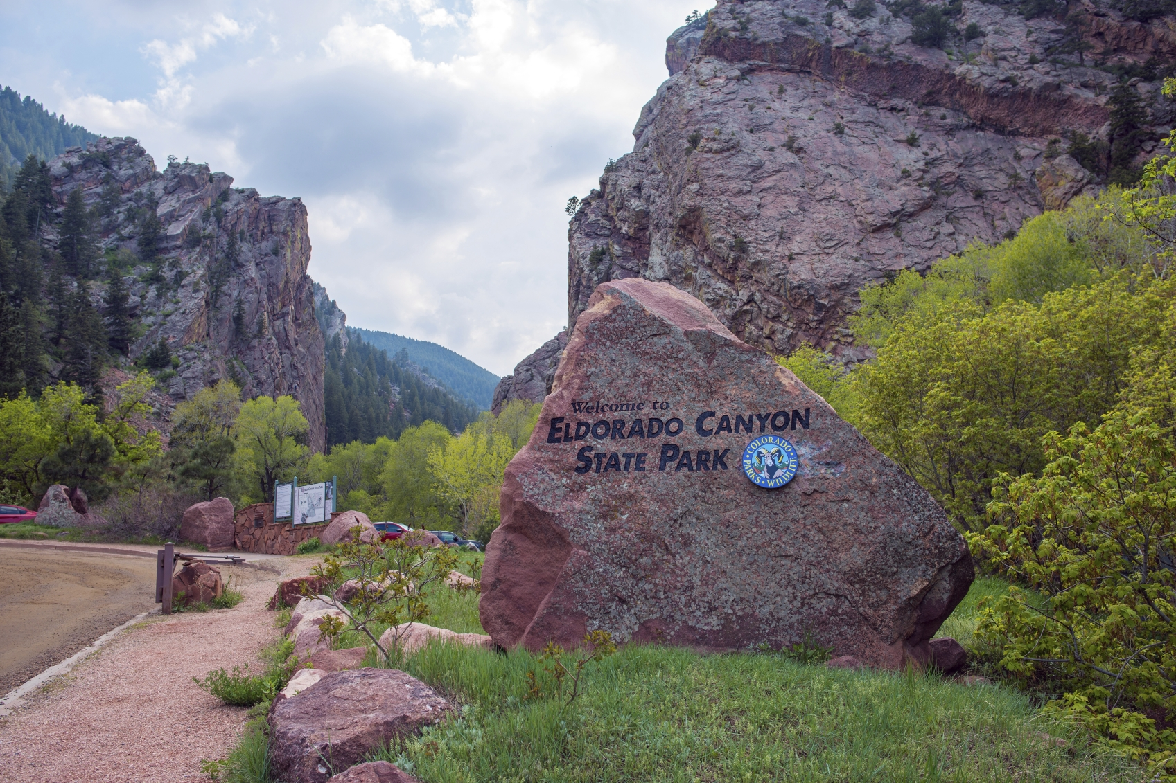 <p>Eldorado Canyon State Park near  Eldorado Springs, Colorado.</p>