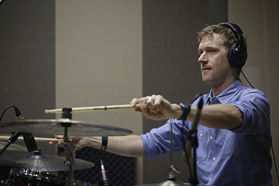 <p>Shawn King of DeVotchKa</p>