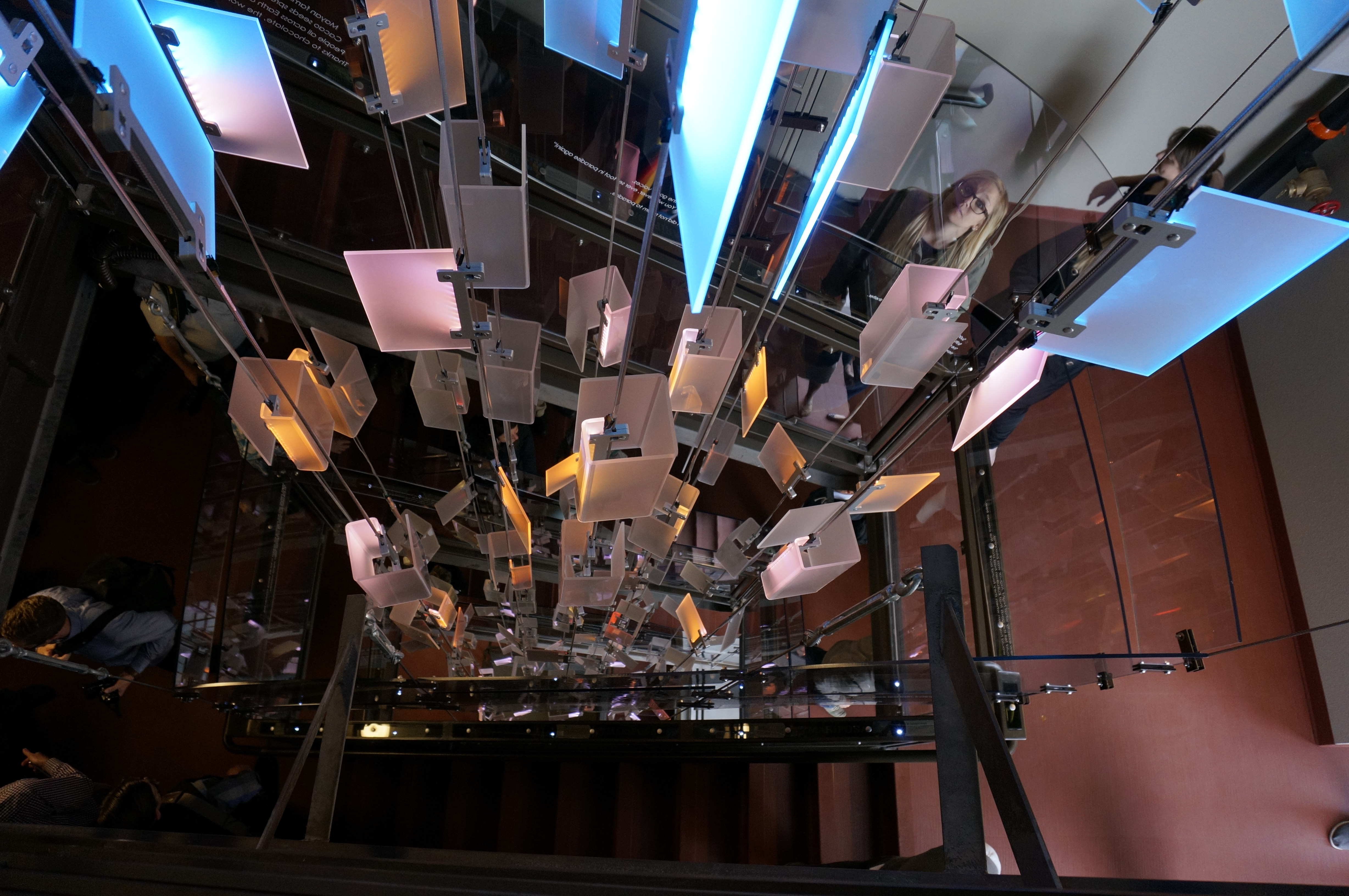 """<p>""""Interactive Staircase"""" in Denver's Mariposa District</p>"""