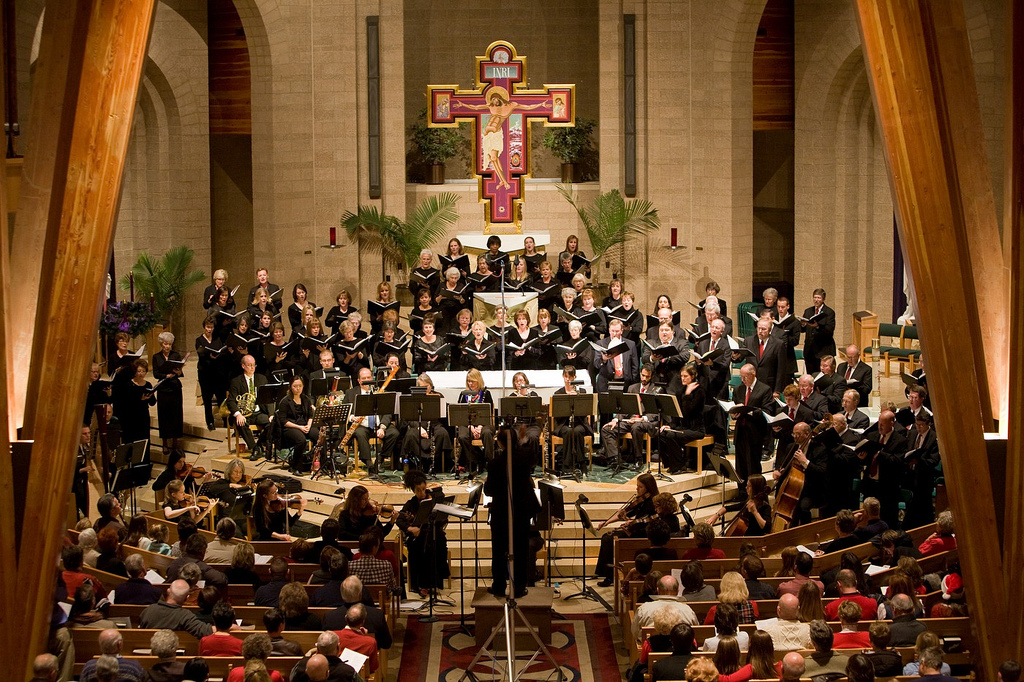 <p>Canto Deo in concert.</p>