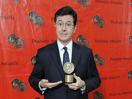 <p>Stephen Colbert.</p>