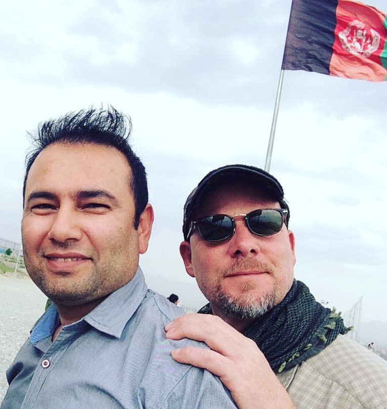 <p>Translator Zabihullah Tamanna, left, and photojournalist David Gilkey were killed while on assignment for NPR in southern Afghanistan.</p>