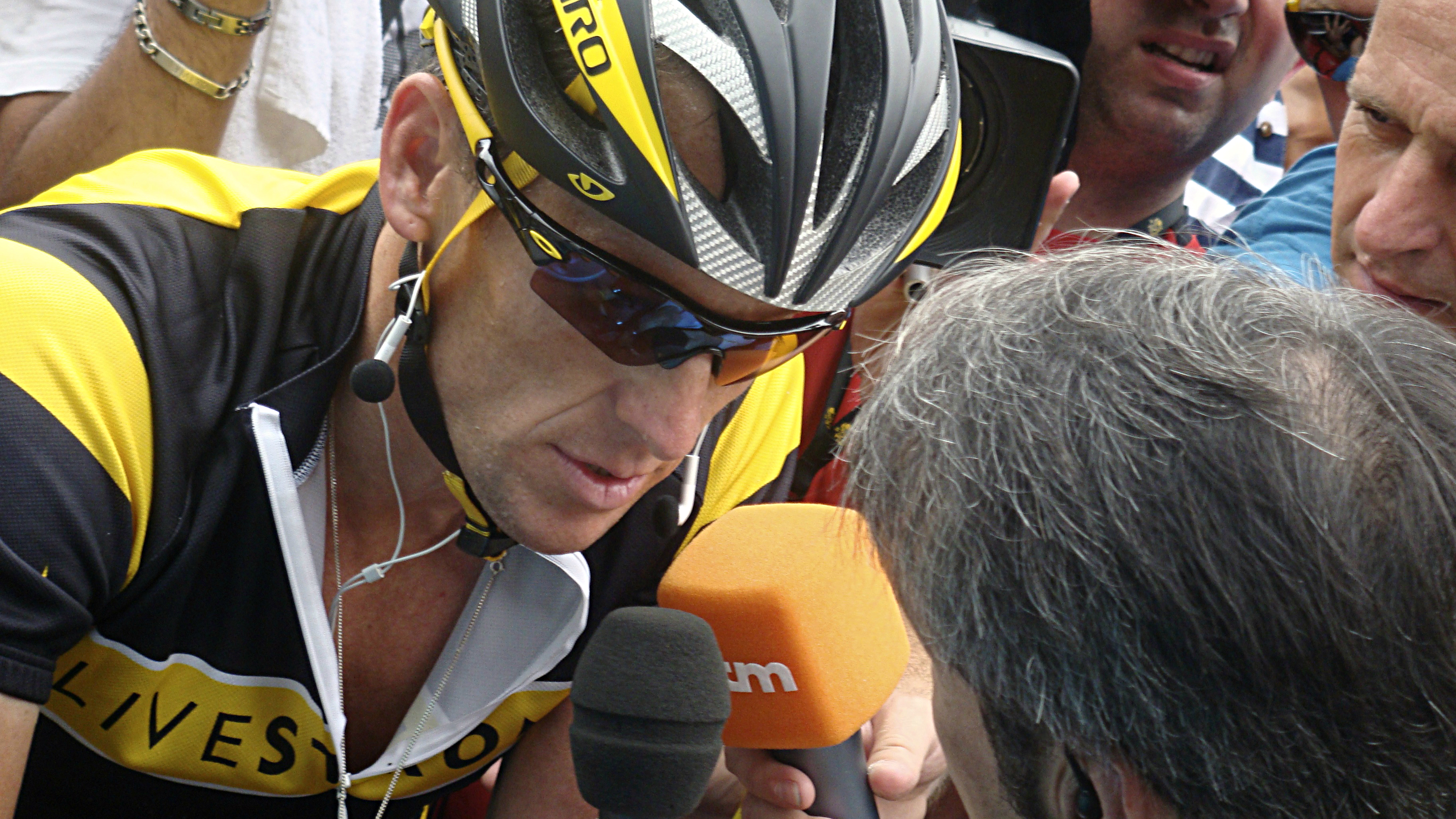 <p>Lance Armstrong</p>