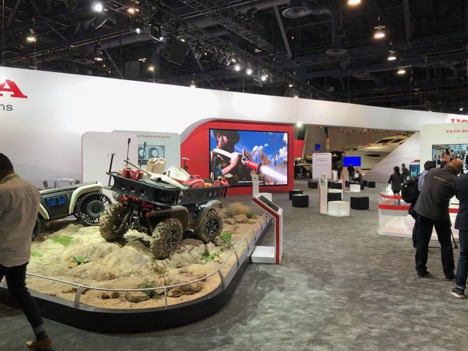 Self-driving ATV model