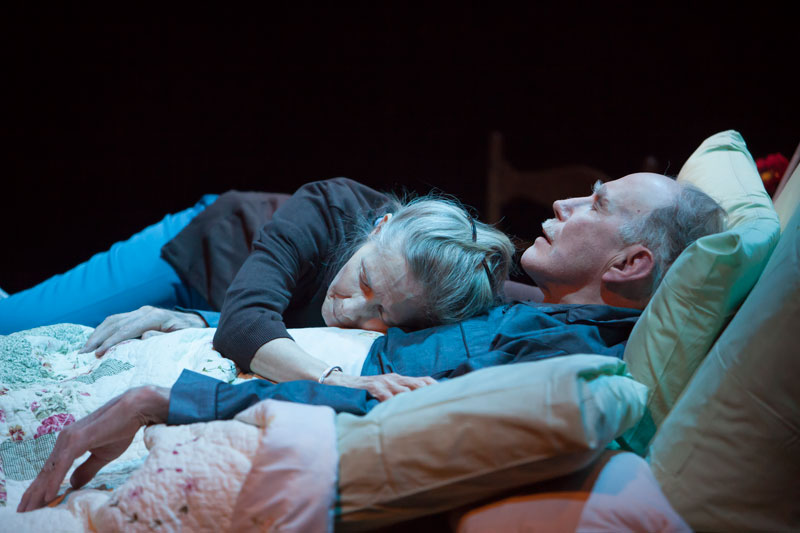 """<p>Joyce Cohen and Mike Hartman star in """"Benediction.""""</p>"""