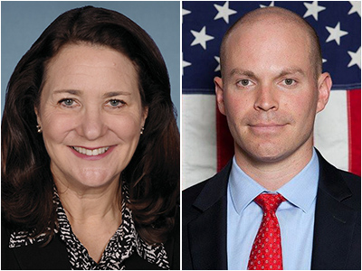 "<p>From left: Democratic Rep. Diana DeGette,Republican Charles ""Casper"" Stockham and Libertarian Darrel Dinges.</p>"