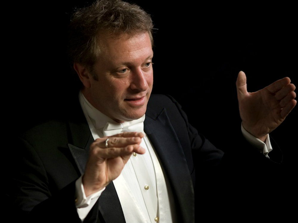 <p>Charles Bruffy, the artistic director of the Phoenix Chorale and Kansas City Chorale</p>