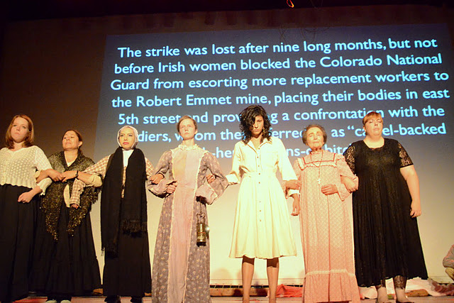 <p>Members of the Romero Theater Troupe bring the stories of little-known Colorado activists to the stage.</p>
