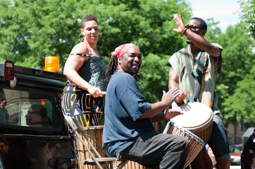 <p>Umoja Dance Company performs at the 2013 Colorado Black Arts Festival</p>