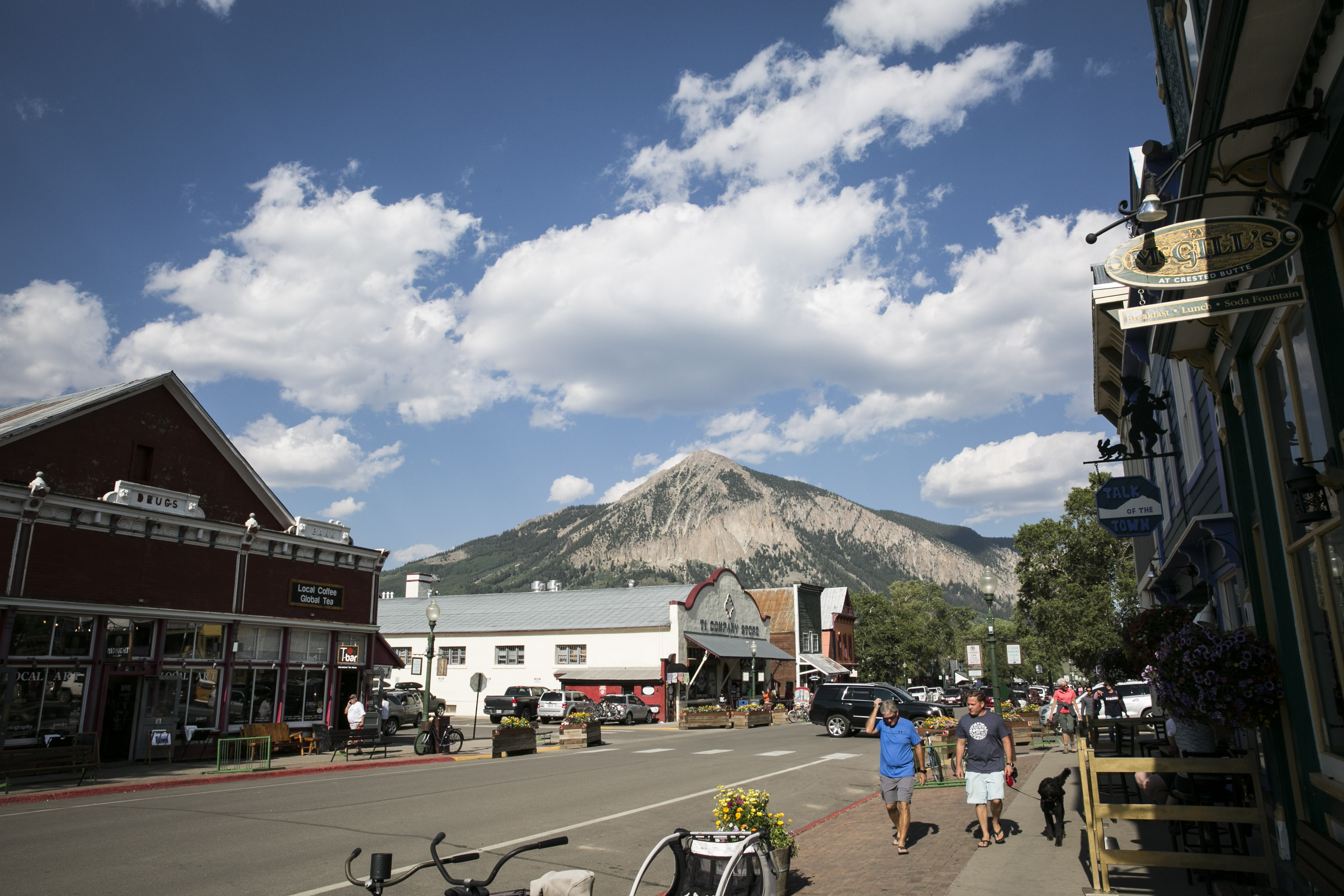 <p>Elk Avenue is the main drag in Crested Butte, Colorado.</p>