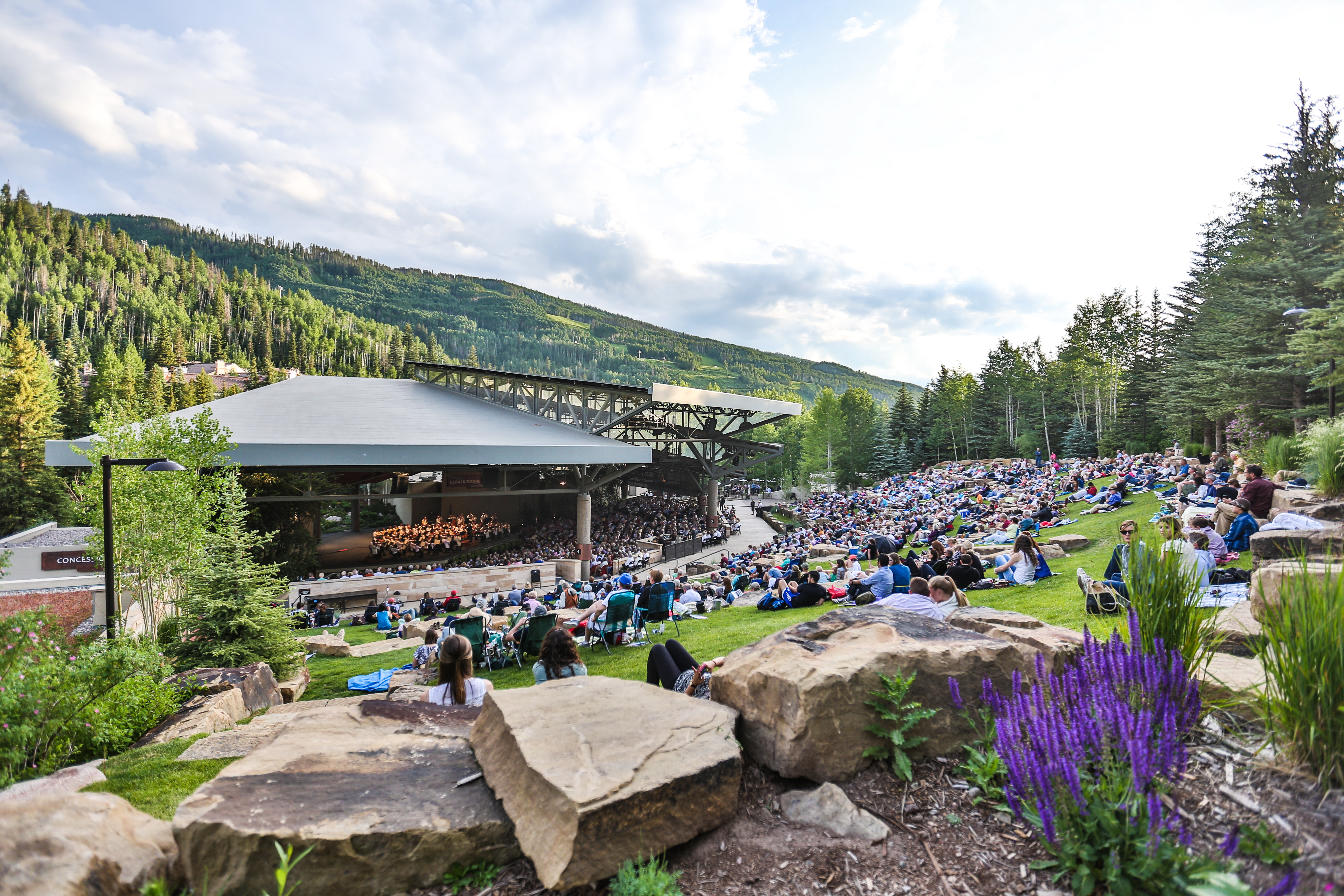 <p>The Dallas Symphony Orchestra performs at the Bravo! Vail Music Festival</p>