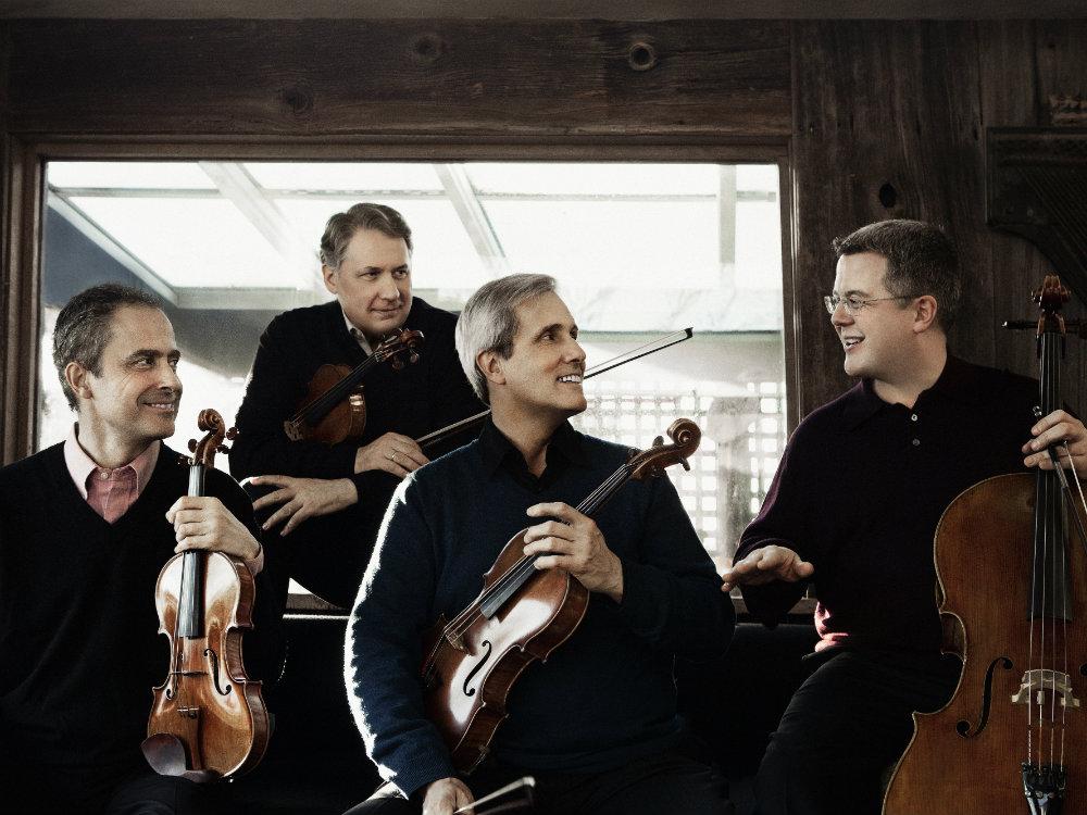 <p>The Emerson String Quartet.</p>