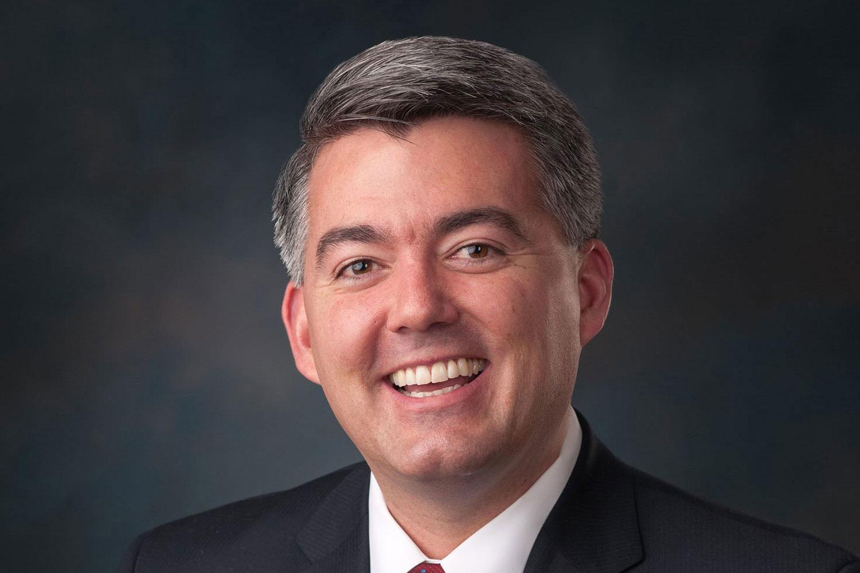 <p>Republican Sen. Cory Gardner of Colorado.</p>