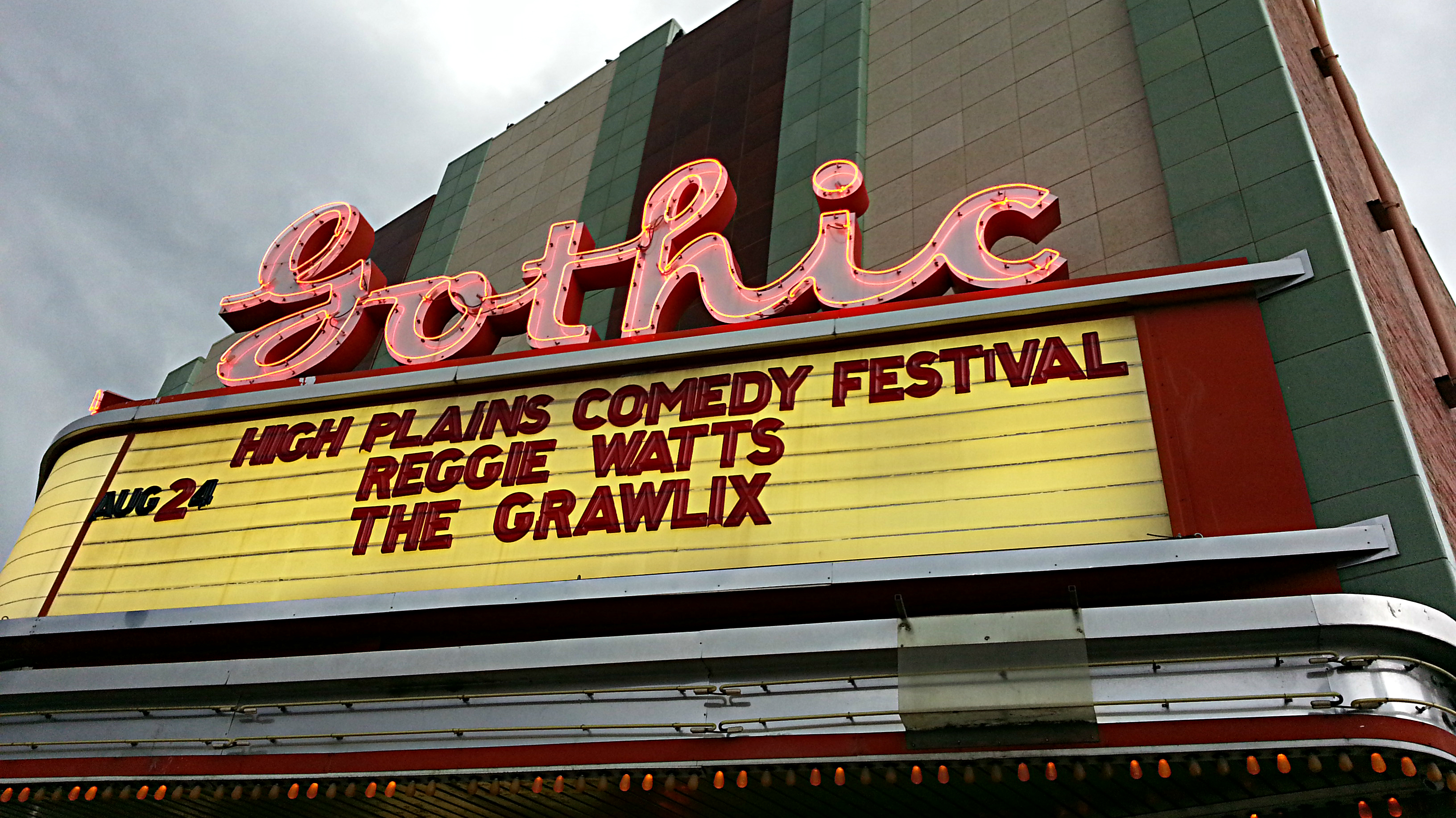 <p>The High Plains Comedy Festival debuted in August of 2013, produced by Adam Cayton-Holland and Andy Juett.</p>