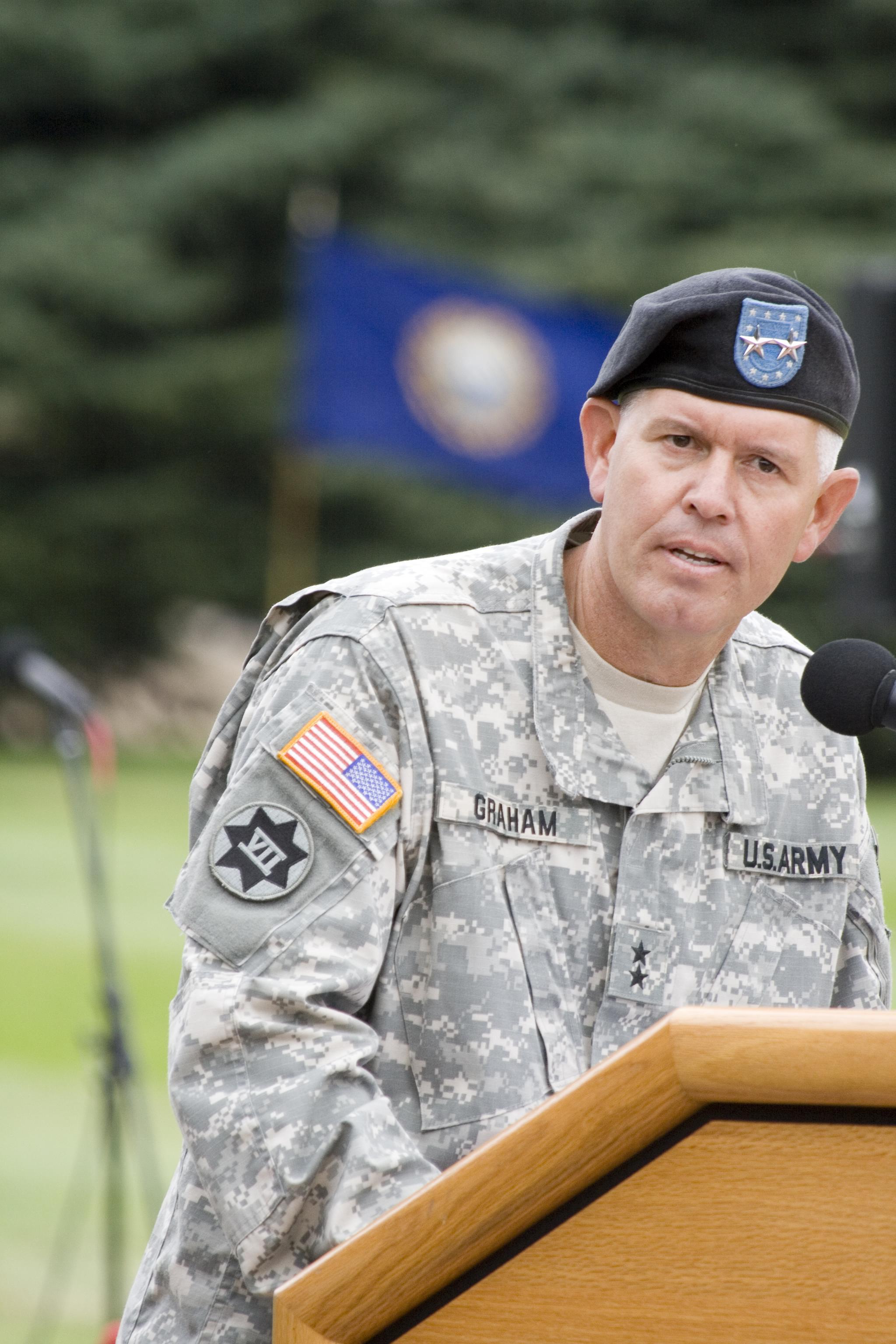 <p>Former Fort Carson Army commander Mark Graham.</p>