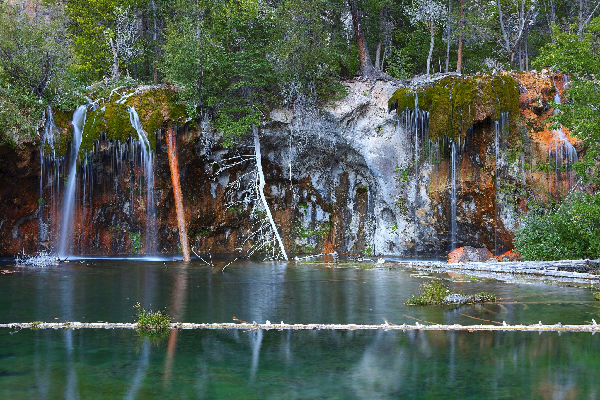Hanging Lake near Glenwood Springs.