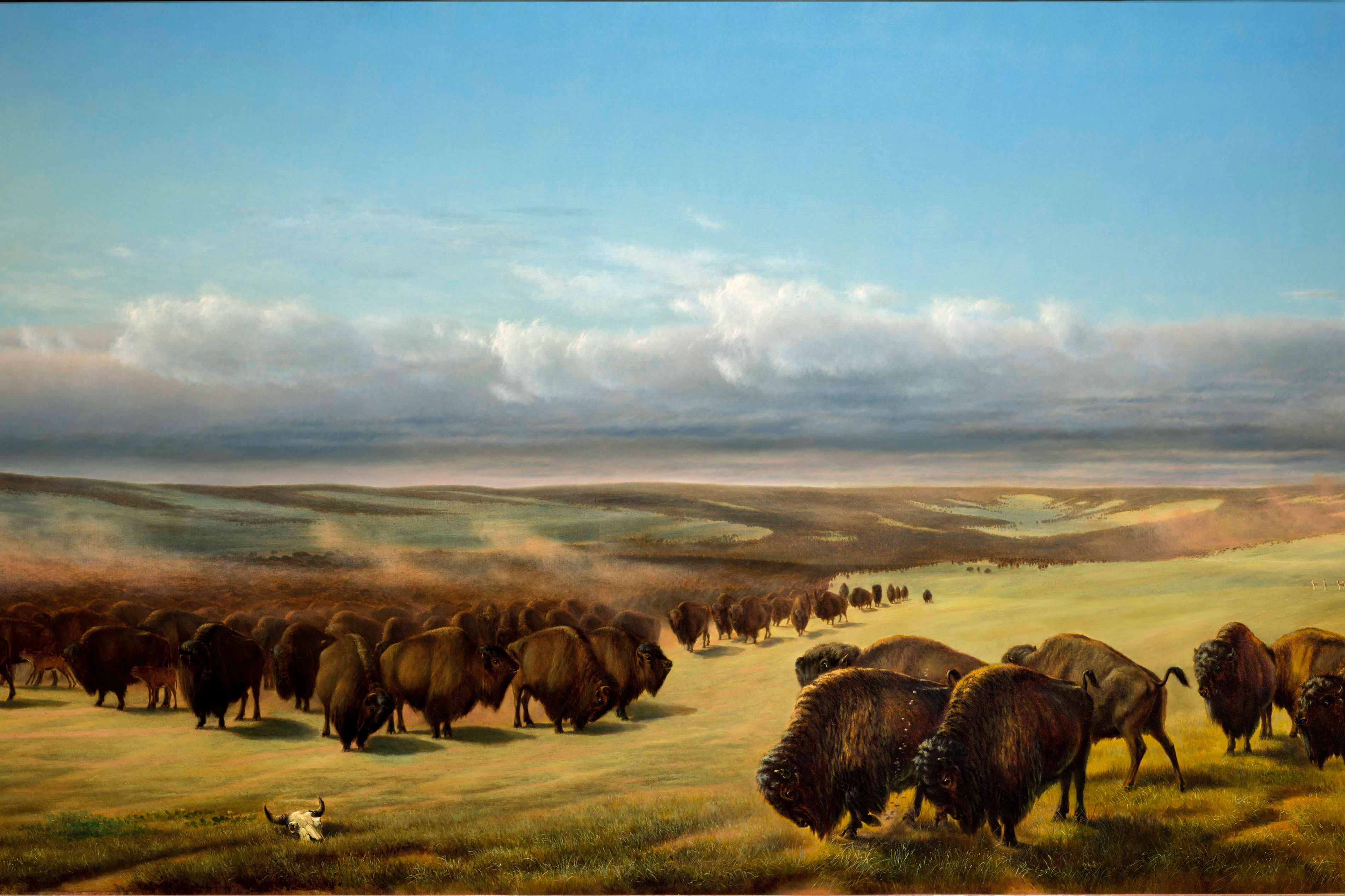 <p>William Jacob Hays, 'The Gathering of the Herds,' 1866. American Museum of Western Art—The Anschutz Collection.</p>