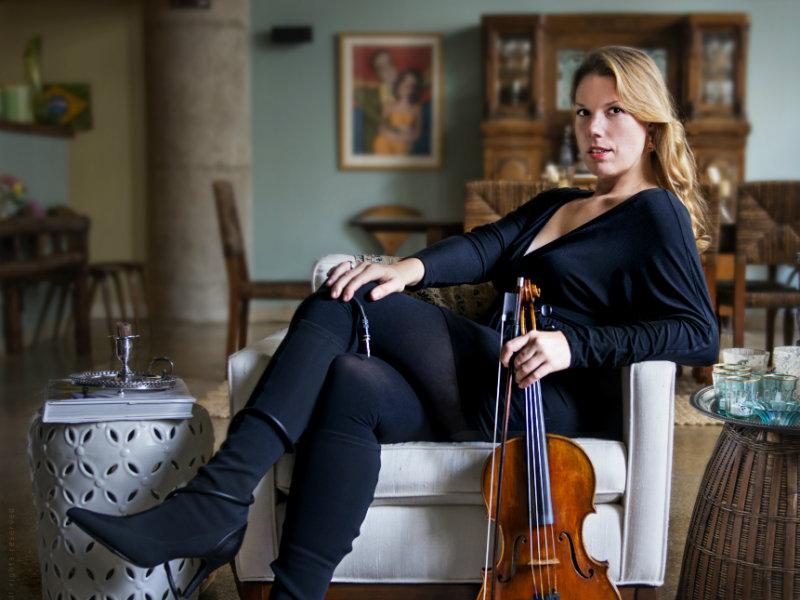 <p>Composer and violist Jessica Meyer.</p>