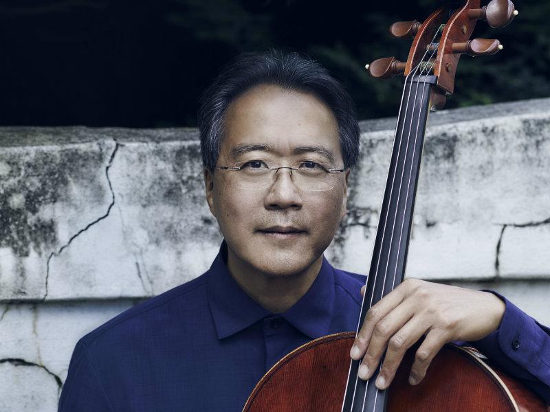 <p>Cellist Yo-Yo Ma</p>