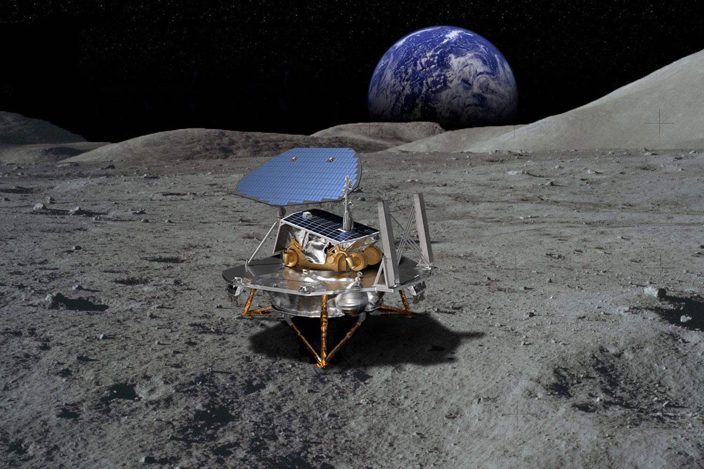 <p>Lockheed Martin's concept for a commercial lunar lander.</p>