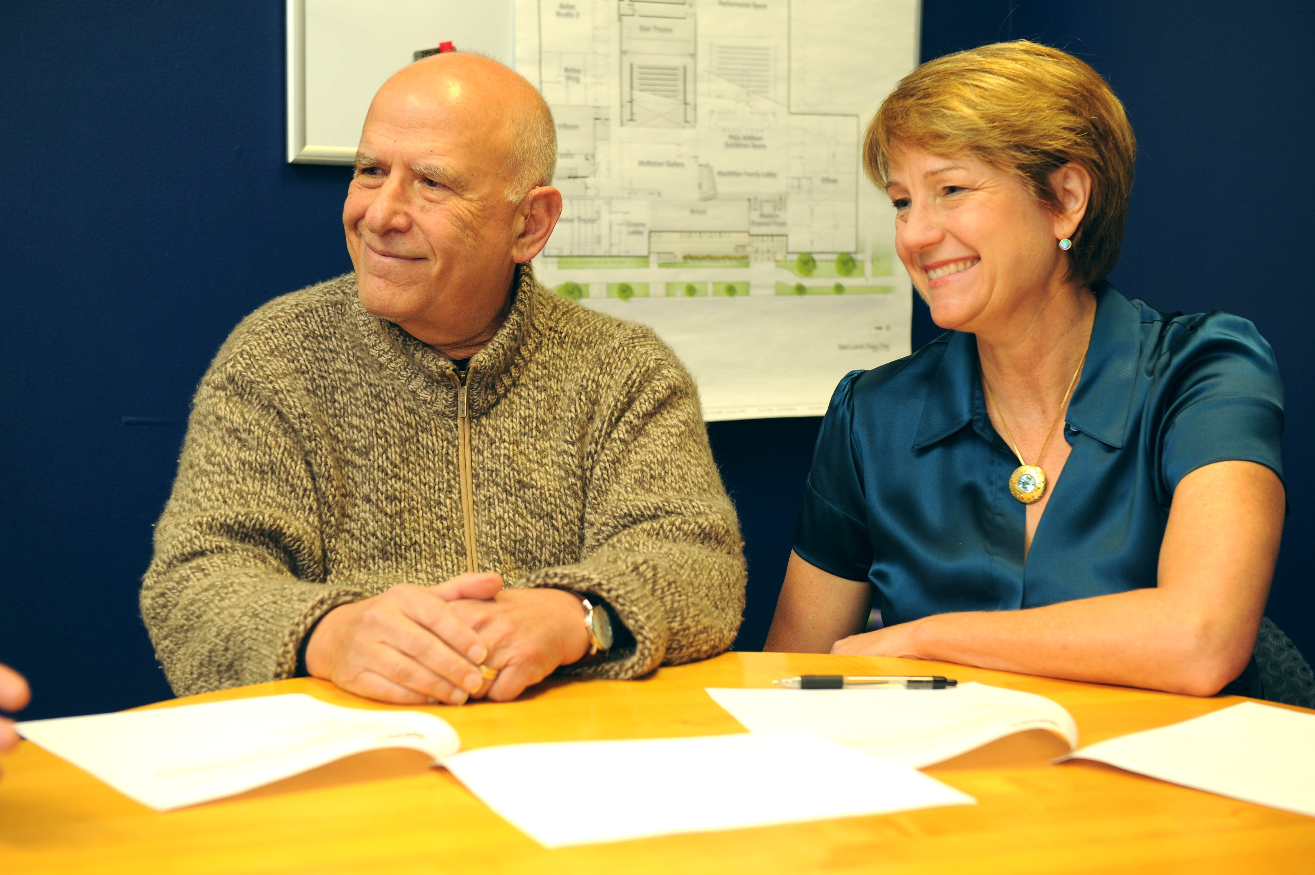 <p>Gordon and Grace Gamm donated $1 million to Boulder'sDairy Center for the Arts</p>
