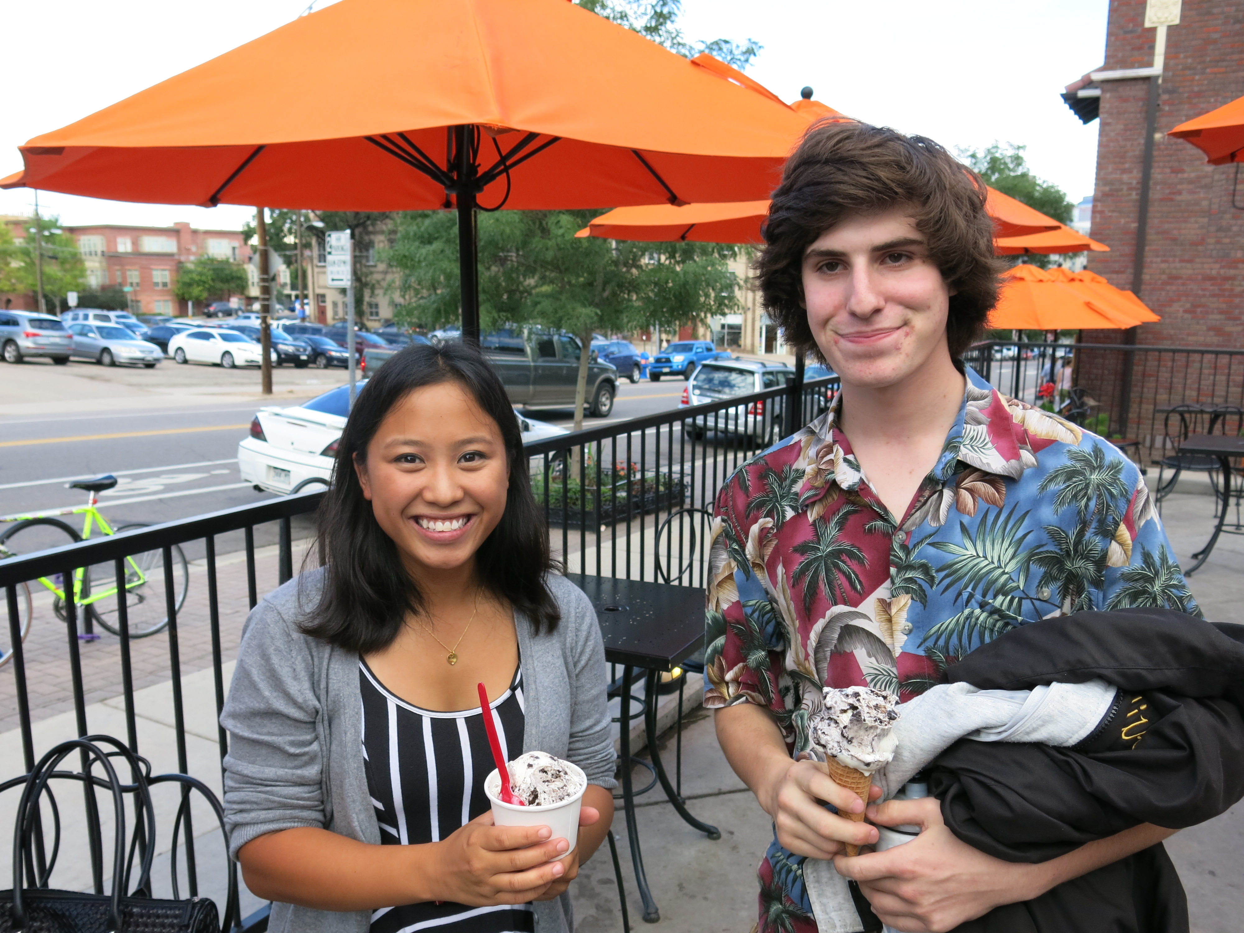 <p>Mae Thompson, of Westminster, and Elijah Ullman of Superior, were among dozens of teens who spoke to the advertising team as they developed the new marijuana campaign.</p>