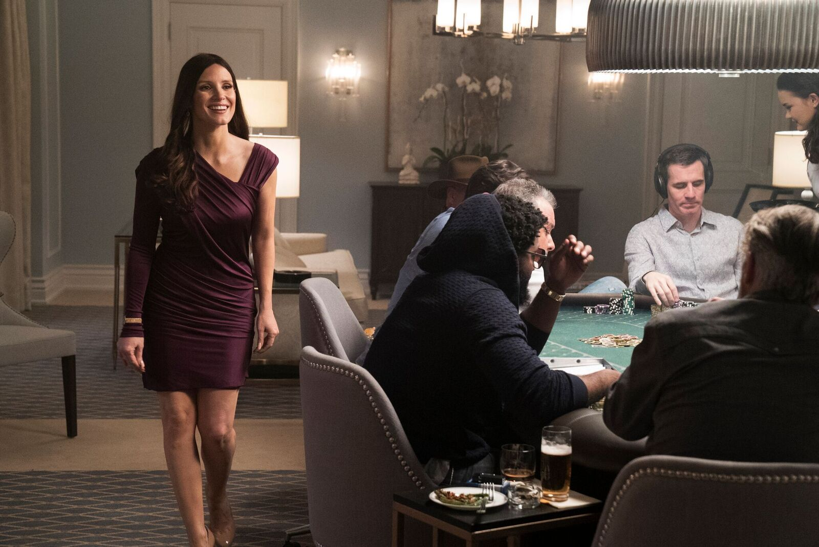 """<p>Jessica Chastain as Molly Bloom in """"Molly's Game.""""</p>"""