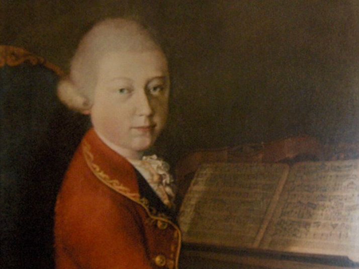 <p>A painting of Wolfgang Amadeus Mozart.</p>