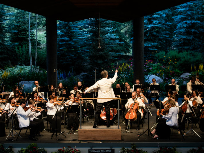 <p>The New York Philharmonic performs at Bravo! Vail, one of many festivals featured this summer as part of CPR Classical's SummerFest broadcasts.</p>
