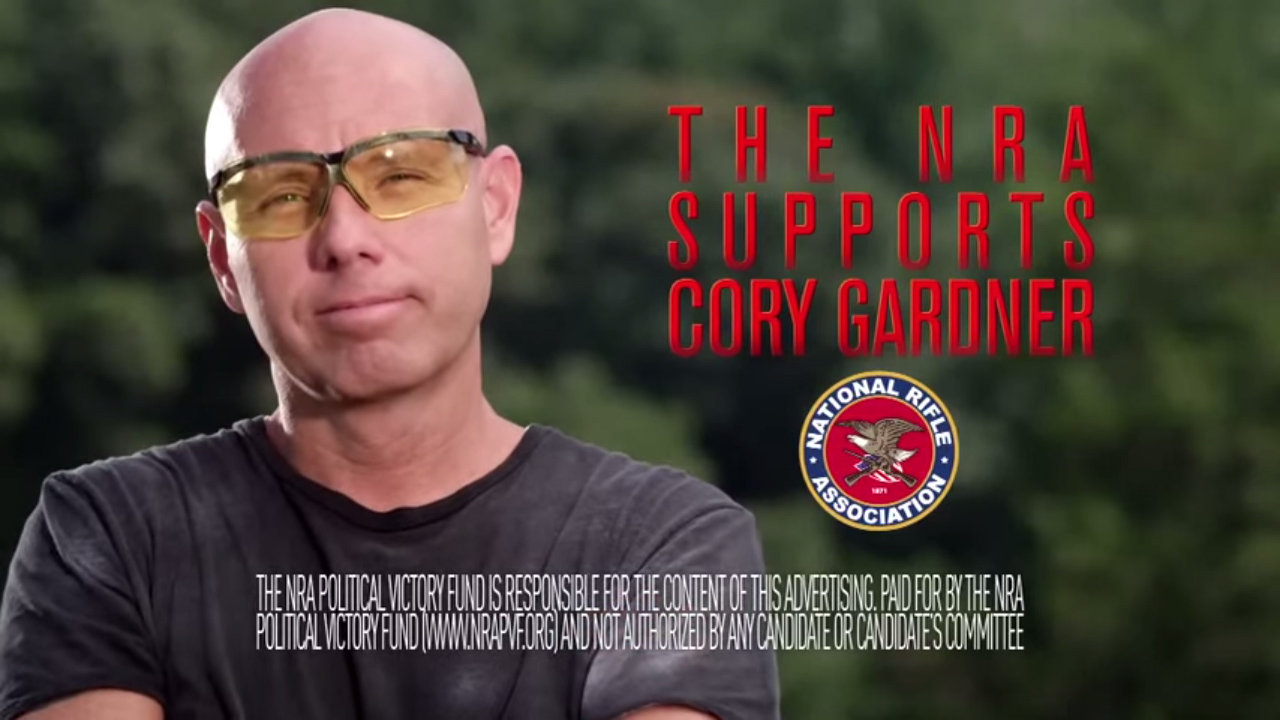 """<p><a href=""""http://www.youtube.com/watch?v=ZZi2_qROlPc"""" target=""""_blank"""" rel=""""noopener noreferrer"""">This new ad</a> by the National Rifle Association supports Rep. Cory Gardner's campaign for U.S. Senate.</p>"""