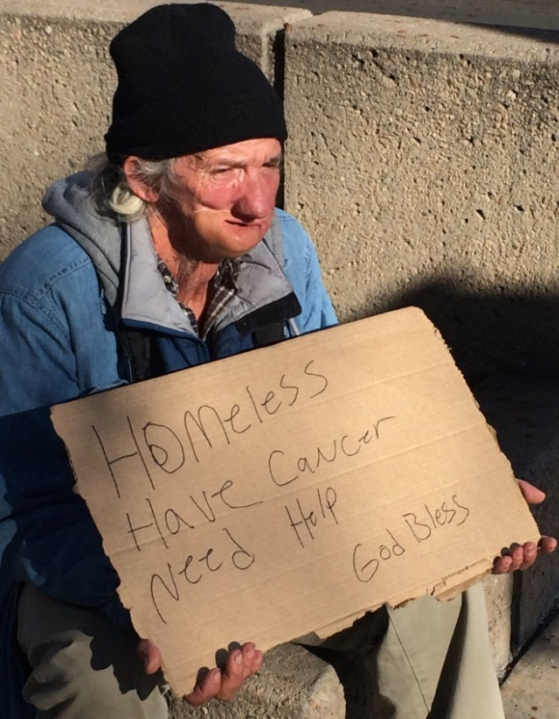 """<p>Jeffrey Alan is plaintiffon a ACLU lawsuit against the city of Fort Collins over its law banning some forms of panhandling. Alan is""""homeless, disabled, and poor. To pay for basic necessities, Mr. Alan sometimes solicits donations from passersby on public sidewalks,"""" the ACLU's complaint says.</p>"""