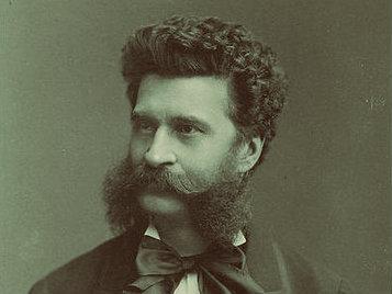 <p>Composer Johann Strauss II.</p>