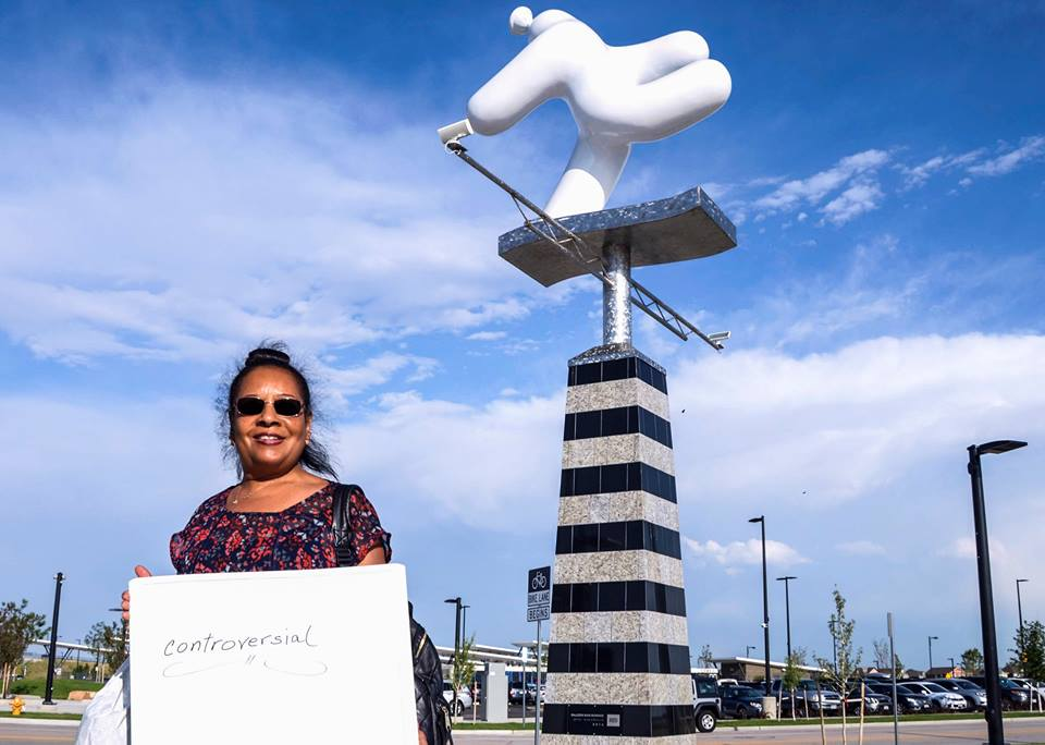 <p>Cathleen Lovette of Commerce City shares her thoughts about this RTD-commissionedsculptureas part of our long-term reporting on public art in Colorado.</p>