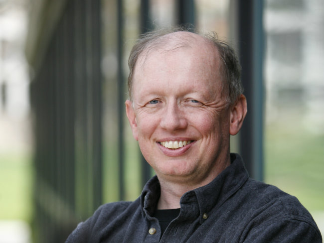 <p>Composer David Rakowski</p>