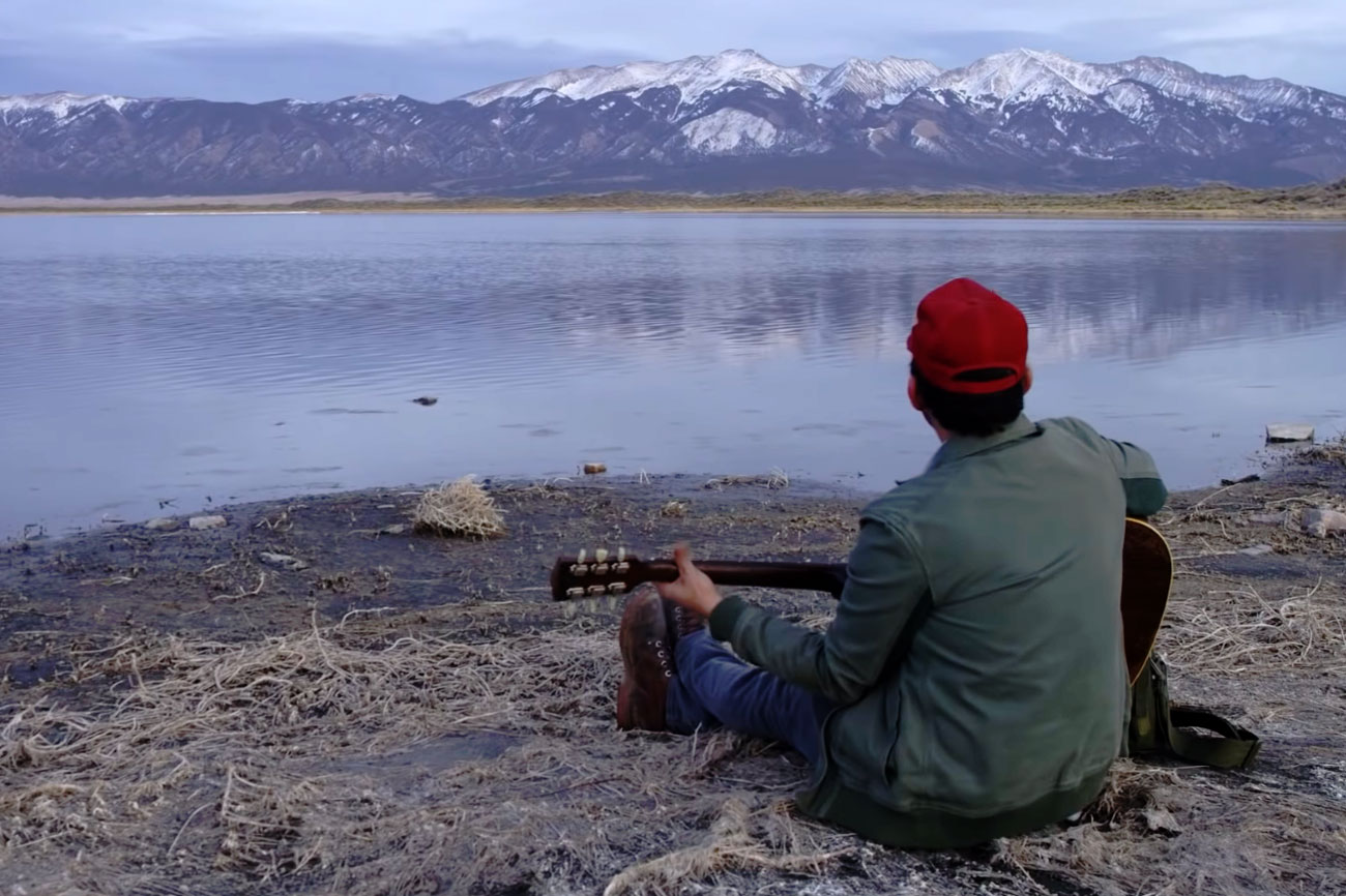 """<p>A screengrab from Gregory Alan Isakov's latest video, """"San Luis.""""</p>"""